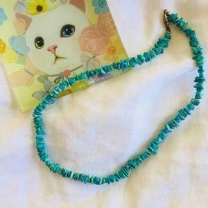Sassy Vintage Turquoise Choker